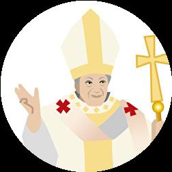 ローマ教皇 女性信者の手を叩く 謝罪