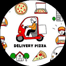 ドミノ・ピザ 非接触配達 あんしん受取サービス