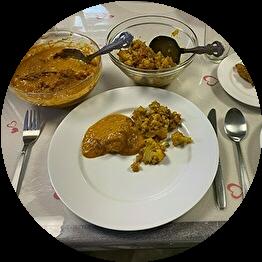 インド家庭料理 チャパティ